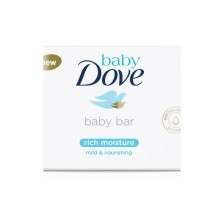 Хидратиращ крем-сапун Baby Dove - Rich Moisture, 75 gr -1