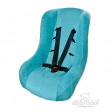 Калъф за стол за кола Baby Matex, тюркоаз -1