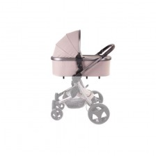 Твърд кош за бебешка количка Baby Monsters - Premium, кафяв -1