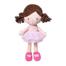 Еко кукла Babyono - Лена, с розови обувки -1
