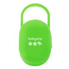 Кутийка за залъгалка Babyono - Зелена -1