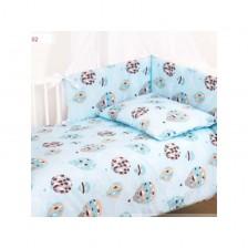 Бебешки спален комплект от 3 части Baby Matex - Trendy