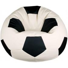 Барбарон Barbaron - Футболна топка, бяло и черно -1