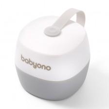 Babyono Кутия за залъгалка NATURAL NURSING бяла new -1