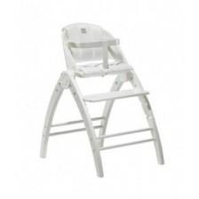 Столче за хранене BabyDan - Angel Feast, бяло -1