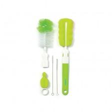 Комплект четки за шишета и биберони Babyono - Зелен -1