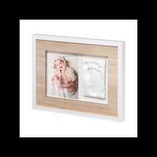 Отпечатък със снимка Baby Art - Wall Print Tiny Style Wooden -1