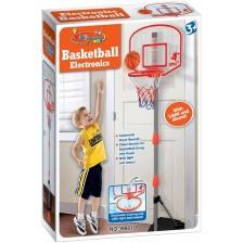 Баскетболен кош с електронен брояч King Sport, 170 cm, с мини топка -1