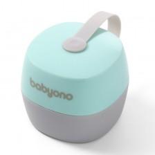 Babyono Кутия за залъгалка NATURAL NURSING mint new -1