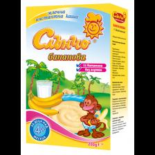 Бананово млечна каша Слънчо, 200 g -1