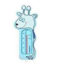 Термометър за баня Babyono - Жираф, син -1