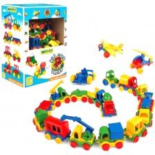 Бебешка играчка Wader Kid Cars - Мини количкa, асортимент -1