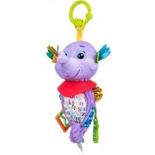 Бебешка висяща играчка Bali Bazoo - Monty, морско конче -1