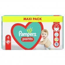 Бебешки пелени гащи Pampers 4, 48 броя  -1