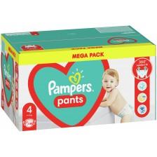 Бебешки пелени гащи Pampers 4, 108 броя  -1
