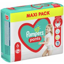 Бебешки пелени гащи Pampers 6, XL, 36 броя  -1