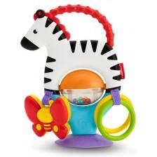 Бебешка играчка Fisher Price - Зебра -1