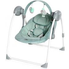 Бебешка люлка Lorelli - Portofino, Frosty Green Stars -1