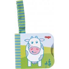 Бебешка картонена книжка Haba - Фермата -1
