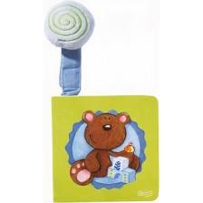 Бебешка картонена книжка Haba, Играчки -1