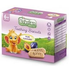 Бебешки бишкоти Bebelan Baby Biscuits - Със слива -1