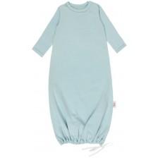 Бебешка нощница Egos Bio Baby - Органичен памук, мента -1