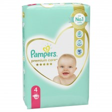 Бебешки пелени Pampers - Premium Care 4, 68 броя  -1