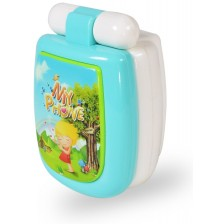 Бебешка играчка Moni - Телефон с капаче K999-95B, Green -1