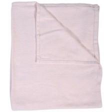 Бебешко одеяло Cangaroo - Latte 100 х 93 cm, розово -1