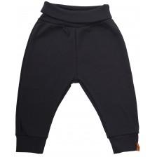 Бебешки панталон Rach - Basic, черен, 62 cm  -1