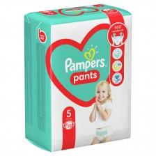 Бебешки пелени гащи Pampers 5, 22 броя -1