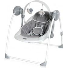 Бебешка люлка Lorelli - Portofino, Cool Grey Stars -1