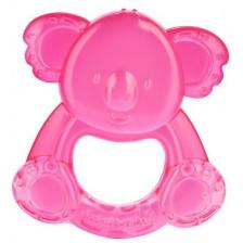 Бебешка водна чесалка Canpol - Коала, розова -1