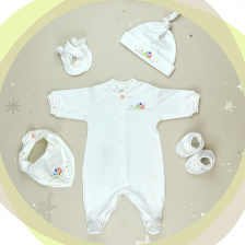 "For Babies Комплект ""Охлювче"" Plus  00970+60+4+8+2412  р.1-3 м - Цветно охлювче -1"