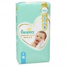 Бебешки пелени Pampers - Premium Care 5, 58 броя