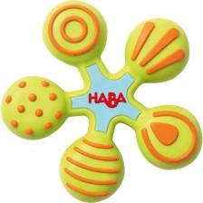 Бебешка силиконова гризалка Haba, Звезда -1