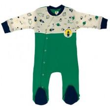 Бебешки гащеризон Rach - Space, 68 cm, зелен -1