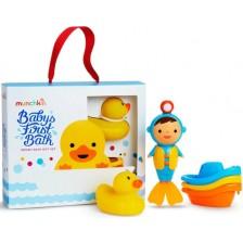 Бебешки играчки за баня Munchkin, 3 броя -1