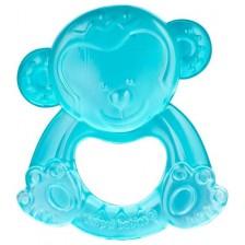 Бебешка водна чесалка Canpol - Маймунка, синя -1