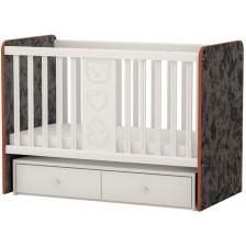 Бебешко легло-люлка Arbor - Рини Фън, черно и бяло -1