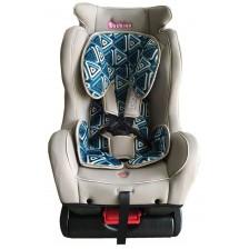 Детско столче за кола Bebino - Comfort, тюркоаз и бяло, до 25 kg -1