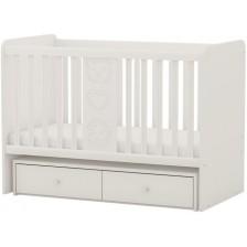 Бебешко легло-люлка Arbor - Рини Фън, бяло -1