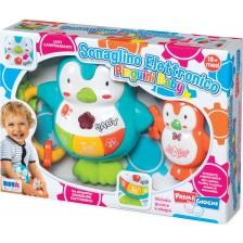 Бебешка играчка RS Toys - Пингвинчета със звук и светлина -1