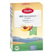 Безмлечна био каша Töpfer - Ориз и банан, 175 g -1
