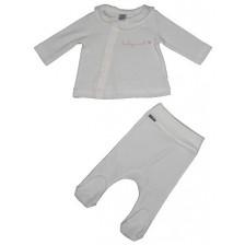Бебешки комплект от 2 части Rach - Baby Love, 62 cm, сив -1