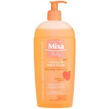Бебешки душ гел Mixa, 400 ml  -1