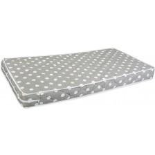 Бебешки матрак с пяна Lorelli - Relax, Grey dots, 60 х 120 cm -1