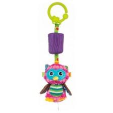 Бебешка висяща играчка Bali Bazoo - Olimpia, бухалче -1