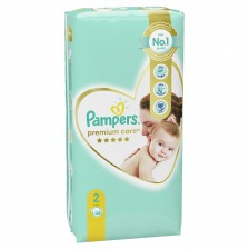 Бебешки пелени Pampers - Premium Care 2, 46 броя