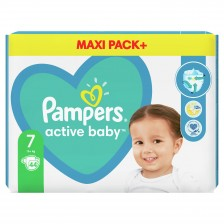 Бебешки пелени Pampers - Active Baby 7, 40 броя  -1